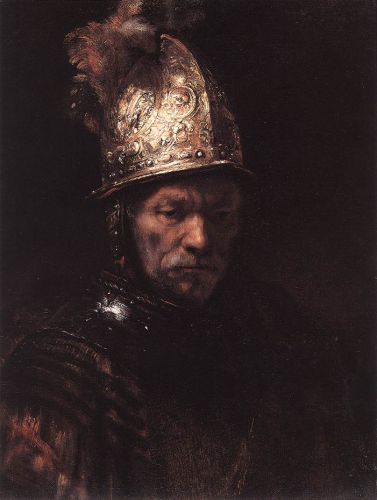 Man in a Golden Helmet by Rembrandt van Rijn