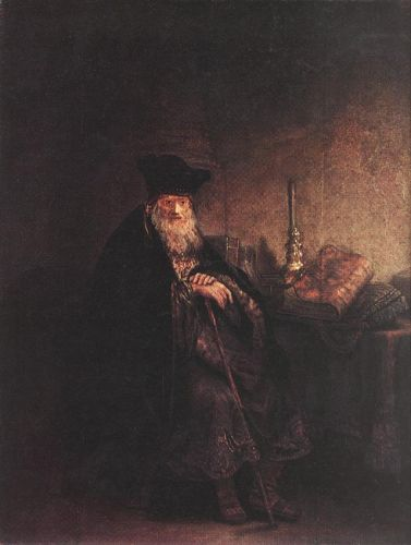 Old Rabbi by Rembrandt van Rijn
