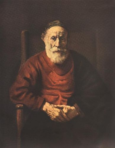 Portrait of an Old Man in Red by Rembrandt van Rijn