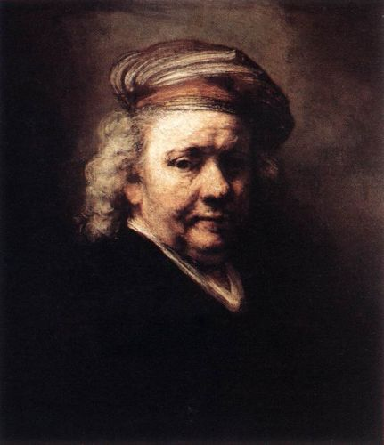 Self-Portrait by Rembrandt van Rijn
