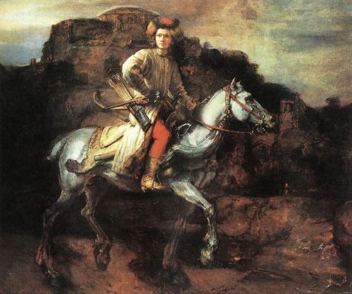 The Polish Rider by Rembrandt van Rijn