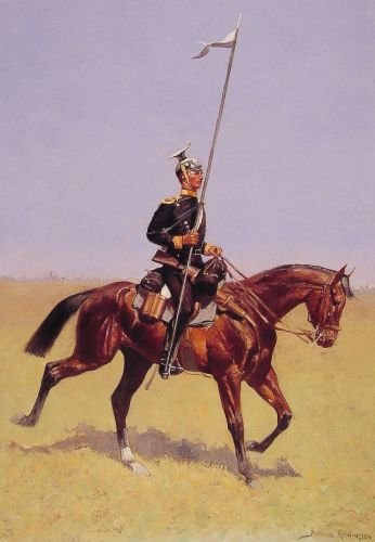 Lancer by Frederic Remington