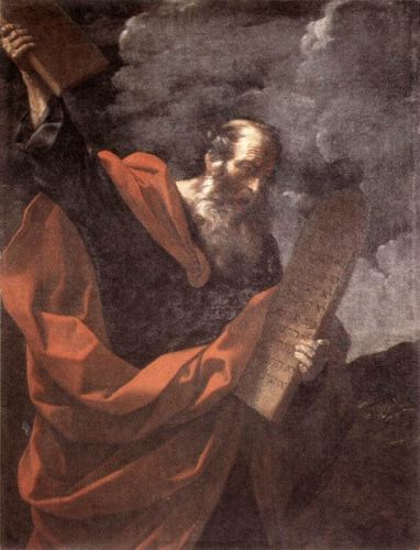 Moses by Guido Reni