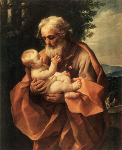 St Joseph with the Infant Jesus by Guido Reni