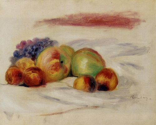 Apples and Grapes, 1910 by Pierre-Auguste Renoir