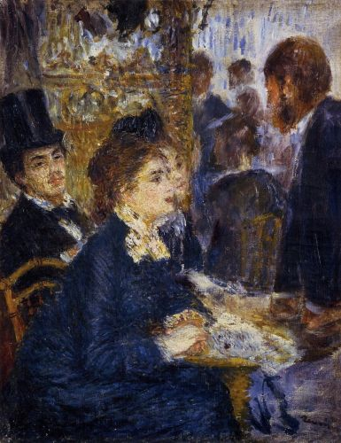 At the Cafe, 1876-1877 by Pierre-Auguste Renoir