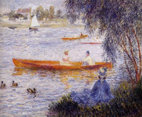 Boating at Argenteuil, 1873 by Pierre-Auguste Renoir