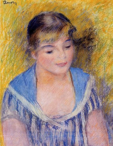 Bust of a Woman by Pierre-Auguste Renoir