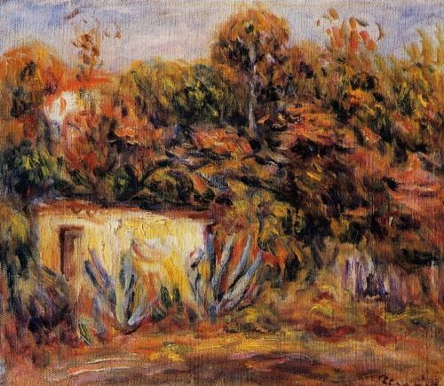 Cabin with Aloe Plants, 1913 by Pierre-Auguste Renoir