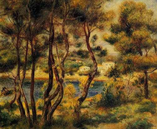 Cape Saint-Jean, 1908-1910 by Pierre-Auguste Renoir