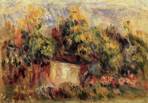 Cottage near Collettes, 1916 by Pierre-Auguste Renoir