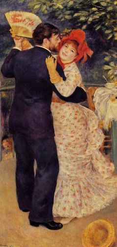 Dance in the Country, 1882-1883 by Pierre-Auguste Renoir
