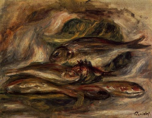 Fish, 1919 by Pierre-Auguste Renoir