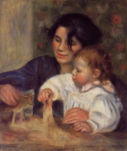 Gabrielle and Jean, 1895 by Pierre-Auguste Renoir