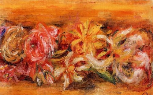 Garland of Flowers by Pierre-Auguste Renoir