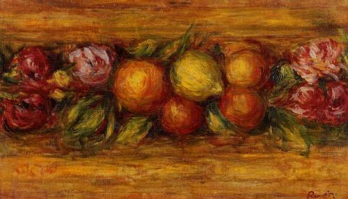 Garland of Fruit and Flowers, 1915 by Pierre-Auguste Renoir