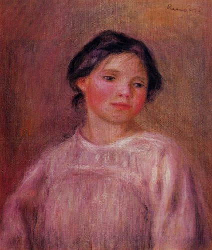 Helene Bellow, 1908 by Pierre-Auguste Renoir