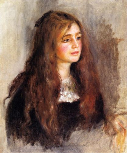 Julie Manet, 1894 by Pierre-Auguste Renoir