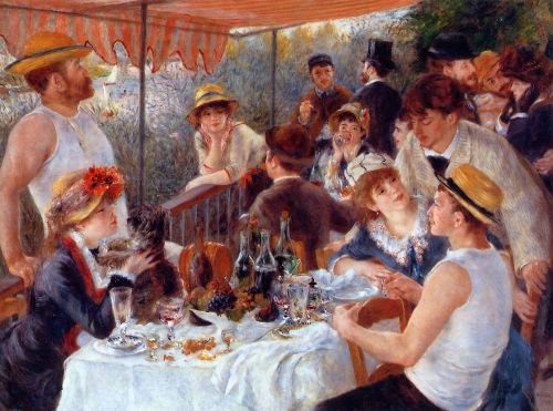 Luncheon of the Boating Party, 1881 by Pierre-Auguste Renoir