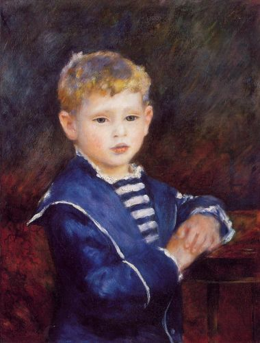 Paul Haviland, 1884 by Pierre-Auguste Renoir