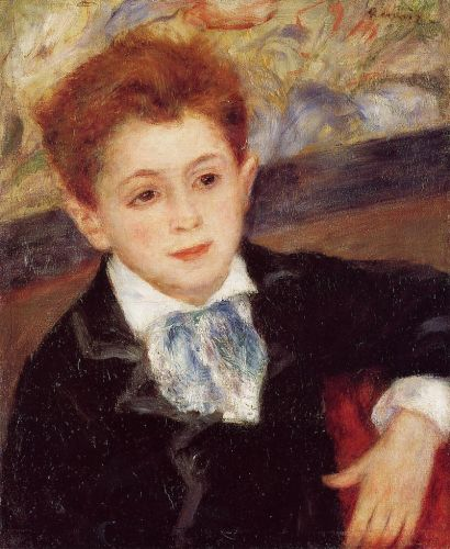 Paul Meunier, 1877 by Pierre-Auguste Renoir