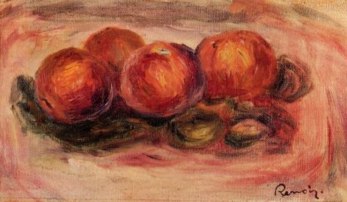 Peaches and Almonds by Pierre-Auguste Renoir