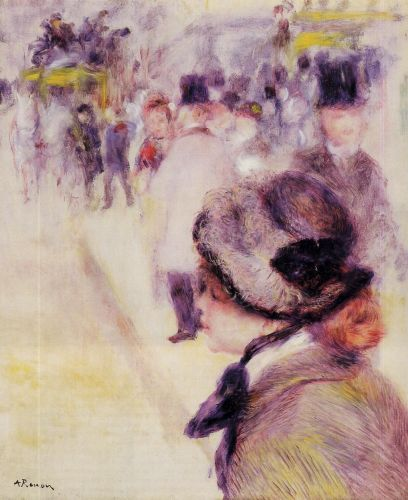 Place Clichy, 1880 by Pierre-Auguste Renoir