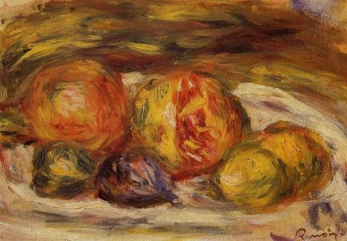 Pomegranate, Figs and Apples, 1914-1915 by Pierre-Auguste Renoir