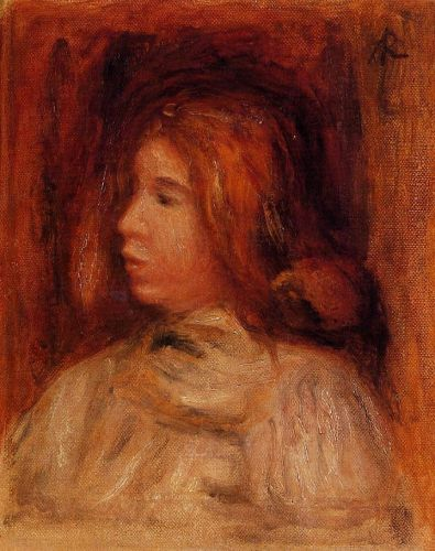 Portrait of a Young Girl by Pierre-Auguste Renoir