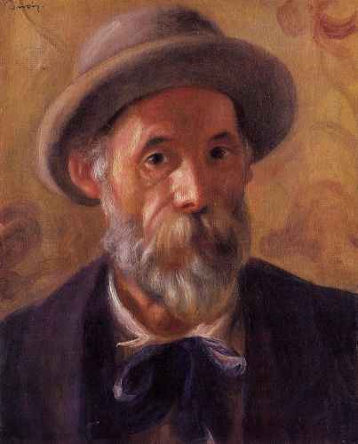 Self Portrait, 1899 by Pierre-Auguste Renoir