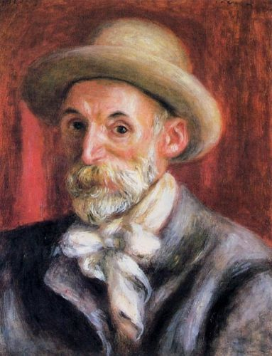 Self Portrait, 1910 by Pierre-Auguste Renoir
