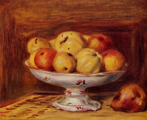 Still Life with Apples and Pears, 1903 by Pierre-Auguste Renoir