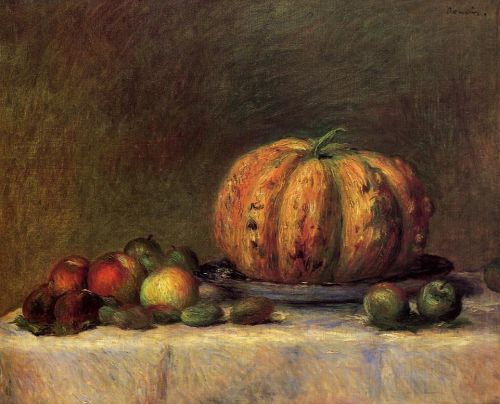 Still Life with Fruit, 1882 by Pierre-Auguste Renoir