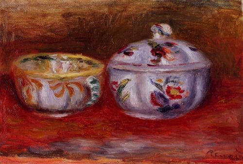 Still Life with Fruit Bowl by Pierre-Auguste Renoir