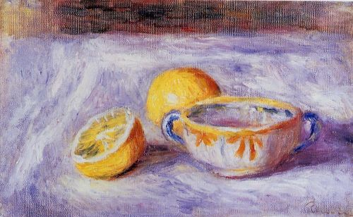Still Life with Lemons by Pierre-Auguste Renoir
