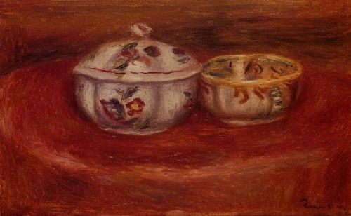 Sugar Bowl and Earthenware Bowl by Pierre-Auguste Renoir