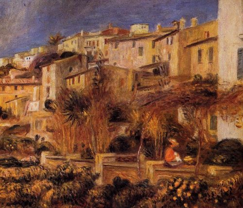 Terraces at Cagnes, 1905 by Pierre-Auguste Renoir