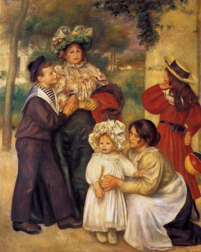 The Artist's Family, 1896 by Pierre-Auguste Renoir