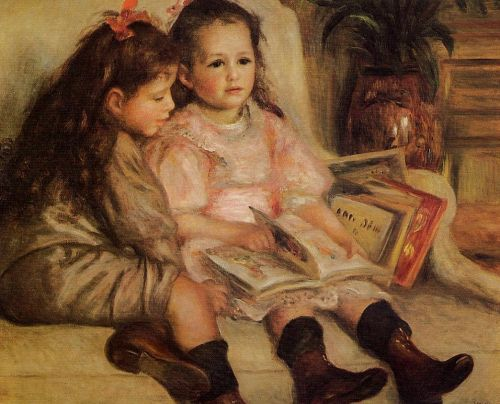 The Children of Martial Caillebotte, 1895 by Pierre-Auguste Renoir