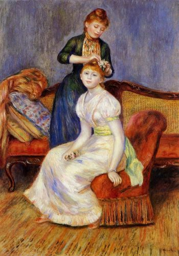 The Coiffeur, 1888 by Pierre-Auguste Renoir