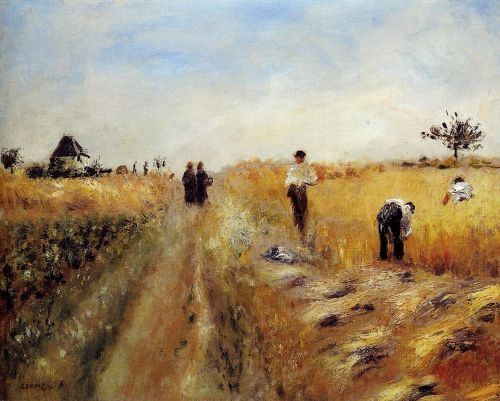 The Harvesters, 1873 by Pierre-Auguste Renoir