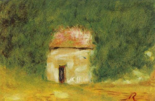 The Little House by Pierre-Auguste Renoir