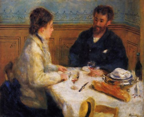 The Luncheon, 1879 by Pierre-Auguste Renoir