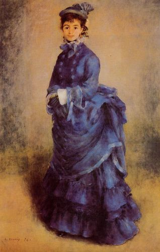 The Parisian (La Parisienne), 1874 by Pierre-Auguste Renoir