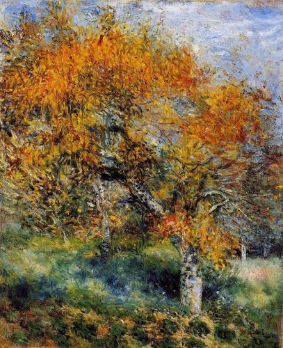 The Pear Tree, 1880-1889 by Pierre-Auguste Renoir