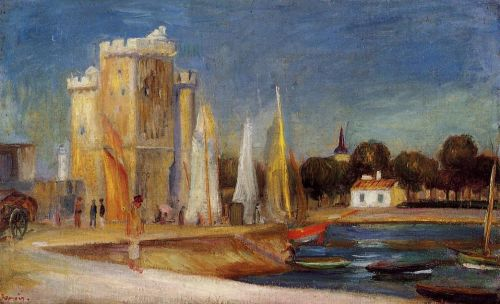 The Port of Rochelle, 1896 by Pierre-Auguste Renoir