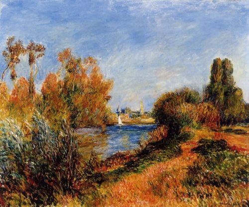 The Seine at Argenteuil, 1888 by Pierre-Auguste Renoir