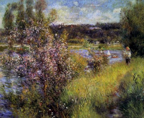 The Seine at Chatou, 1881 by Pierre-Auguste Renoir