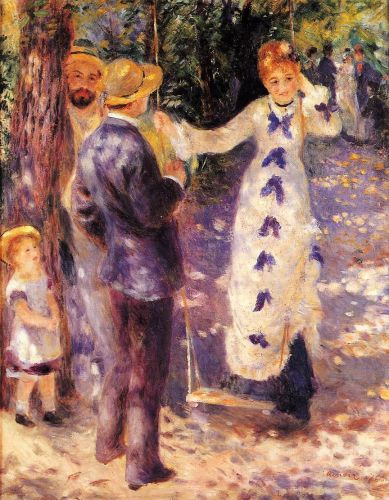The Swing (La Balançoire), 1876 by Pierre-Auguste Renoir