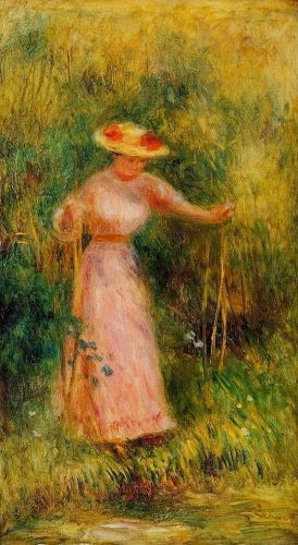 The Swing, 1895 by Pierre-Auguste Renoir